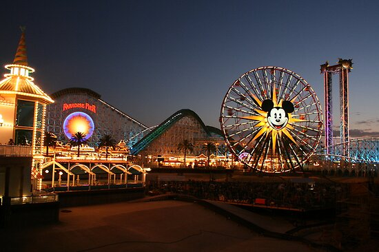 Disney's California Adventure by Marcella Martinez