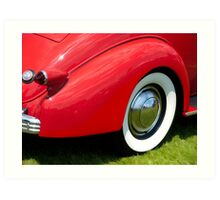 1936 Cadillac V8 Series 60 Business Coupe Art Print