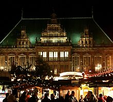 Christmas market at Bremen by Dirk Pagel