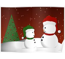 Snowman and Son Poster