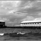 Queenscliff Pier & Lifeboat Shed by dozzam
