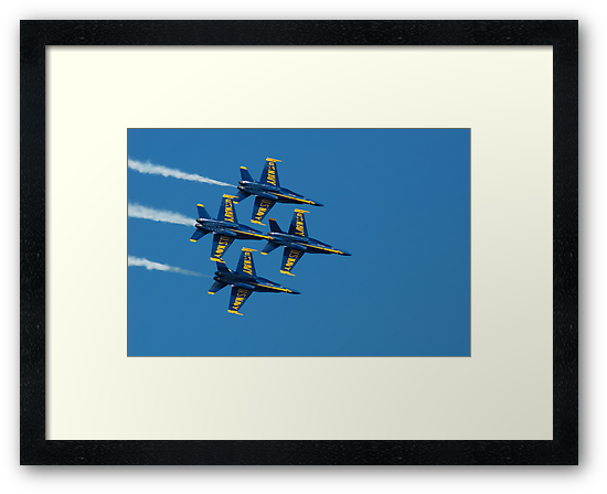 The Blue Angels by Ernesto Lopez