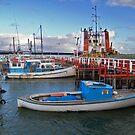 Port Welshpool Wharf by Leanne Nelson
