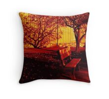 Waiting for you..... Throw Pillow