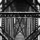Support - Black and White Industrial Collection - Montana by Monica DeShaw
