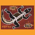 Tribal Lizard by Kayleigh Walmsley