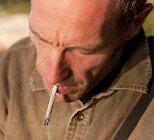 Jan Postel Smokes # 1 by Philip  Rogan