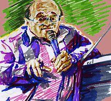 Jazz Portraits-  Petrucciani by Francesca Romana Brogani