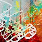 Calligraphy, Abstrat by Khalid  Shahin