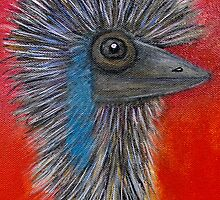 Emu by Julie  Sutherland