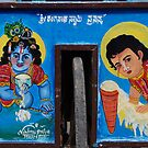 Ice cream Krishna by Syd Winer