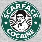 Scarface Cocaine by Schytso Designs