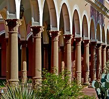 Arches and columns by Linda Sparks