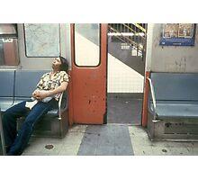NY Subway Photographic Print