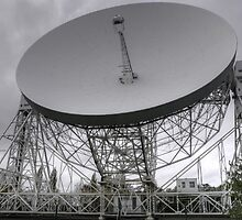 Lovell Telescope, Jodrell Bank by Stuart Woodcock