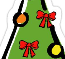 Christmas Tree 2 Sticker