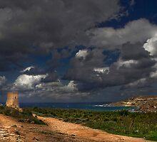 Ghajn Tuffieha Malta by Edwin  Catania