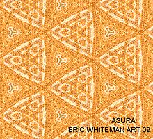 ( ASURA ) ERIC WHITEMAN  ART   by eric  whiteman