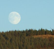 St Andrews Day moon rising by mysticcatnip