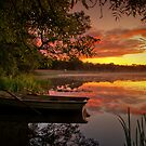 Sunrise, Lake of Menteith by David Mould