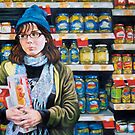 Self Portrait in the Pickle Aisle by Acey Thompson
