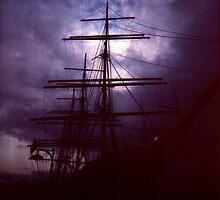 Pirate Ship at Port by seabelly