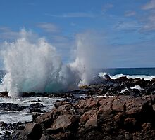 Lanai Blowhole by Craig Durkee