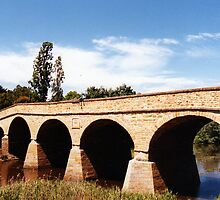 Richmond Bridge, Tasmania, Australia by Lozzie5243