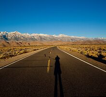 The Long Lonely Road to Mt. Whitney & Lone Pine  by John Glass