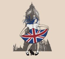 British girl in the city by Amanda  Cass