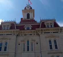 Chase County Courthouse by sandycarol