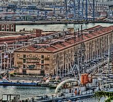 Genoa Old Port by oreundici