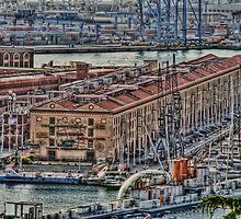 Genoa Old Port by oreundici