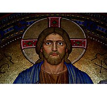 Portrait of Jesus Photographic Print