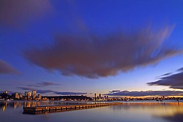 Matilda Bay At Dawn  by EOS20
