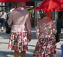 Pumps and Red Parasols ... by Danceintherain