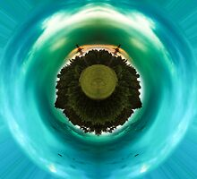 Green little planet 10 by Explosive
