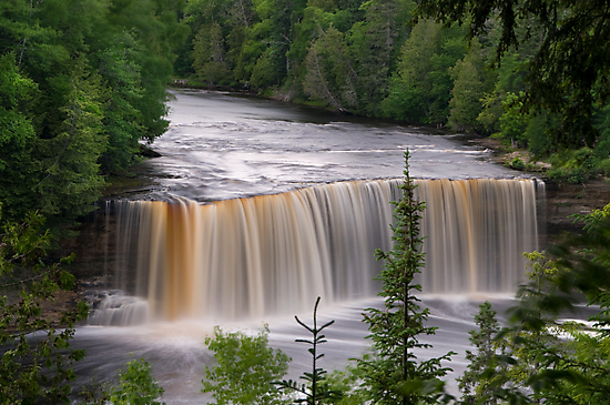 Upper Tahquamenon Falls #4  by JimGuy