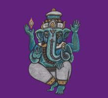 Ganesha Tee by Lynnette Shelley