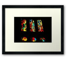 Art with Exclamation Marks!!! Framed Print
