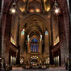 Liverpool Cathedral by Dave Hepworth