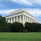 The Lincoln Memorial by Samantha Harmon-Smith