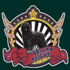 Briard Rescue logo with natural black dog by BriardRescue