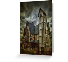 Bristol Town Square Public House Greeting Card