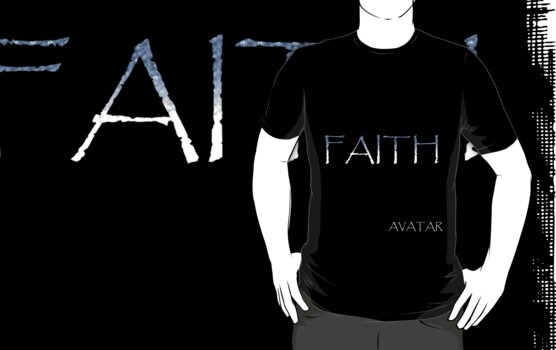 AVATAR - FAITH by Vintage Retro T-Shirts