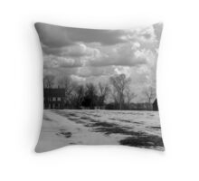 Franchiscas House ( Bridges Of Madison County) Throw Pillow