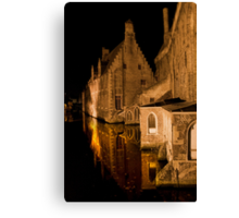 Old House (Brugge, Belgium)  Canvas Print