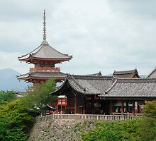 Buildings at Kiyomizudera Temple  by jojobob