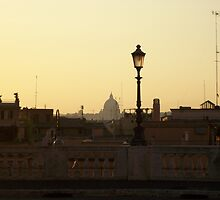 Dusk in Rome by roosterw