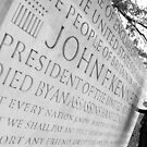 John F Kennedy Memorial at Runnymede Surrey UK by RedSteve